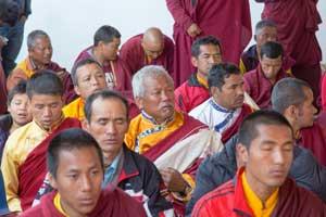 moine bouddhiste au népal